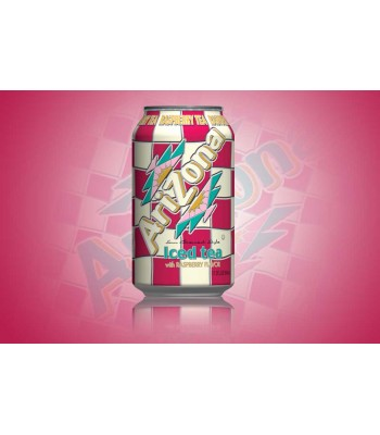Arizona - Raspberry Iced Tea SLIM CAN 11.5oz (340ml)  Soda and Drinks Arizona