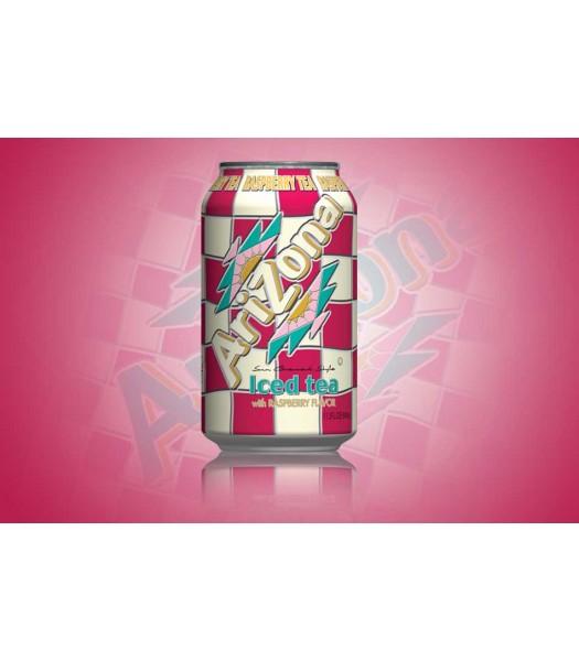Arizona - Raspberry Iced Tea SLIM CAN 11.5oz (340ml)  Soda and Drinks Arizona