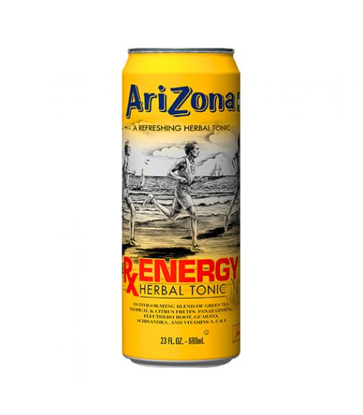 AriZona RX Energy 23.5oz Iced Tea Arizona