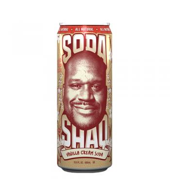 Arizona Shaq Soda Vanilla Cream Soda 23.5oz (695ml) Regular Soda AriZona