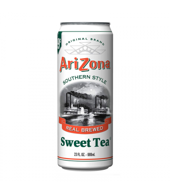 AriZona Southern Style Sweet Tea 23.5oz (695ml) Soda and Drinks Arizona