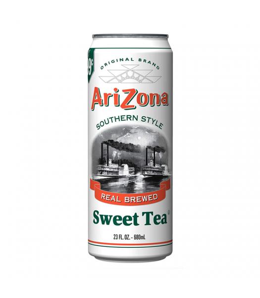 AriZona Southern Style Sweet Tea 23.5oz (695ml) Soda and Drinks Arizona