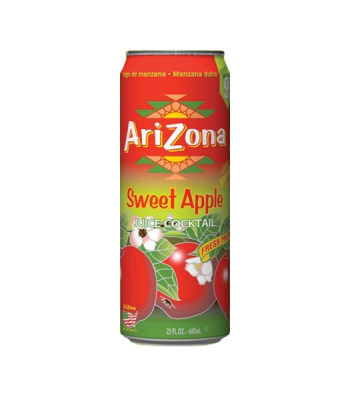 AriZona Sweet Apple 23.5oz Can Regular Soda Arizona