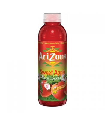 AriZona Sweet Apple 20oz (591ml) Tall Boy Bottle Fruit Juice & Drinks Arizona