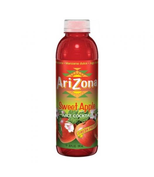 AriZona Sweet Apple 20oz (591ml) Tall Boy Bottle Fruit Juice & Drinks Arizona