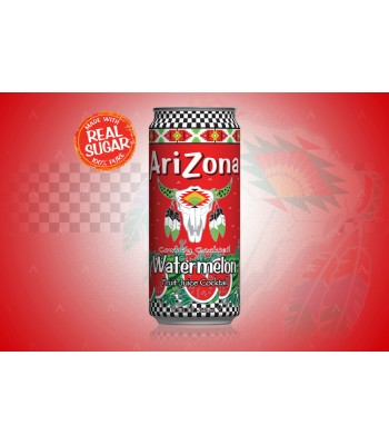 Arizona - Watermelon SLIM CAN 11.5oz (340ml)  Soda and Drinks Arizona