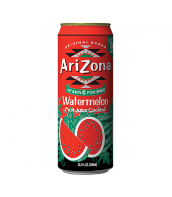 Arizona Watermelon 23.5oz (695ml) Fruit Juice & Drinks AriZona