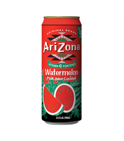 AriZona Watermelon - 23oz (680ml) Soda and Drinks Arizona