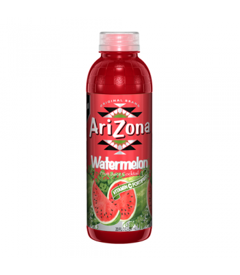 Arizona Watermelon 20oz (591ml) Tall Boy Bottle Fruit Juice & Drinks AriZona