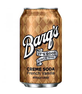 Barq's Creme Soda - French Vanilla - 12fl.oz (355ml) Can