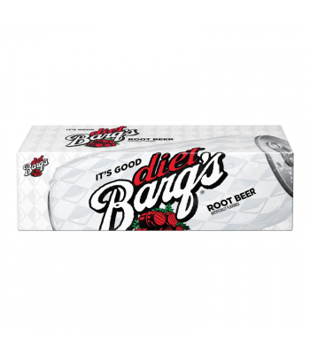 Barq's Diet Root Beer - 12-Pack (12 x 12fl.oz (355ml)) Soda and Drinks