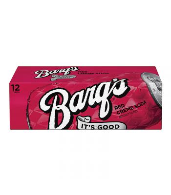 Barq's Red Crème Soda - 12-Pack (12 x 12fl.oz (355ml))