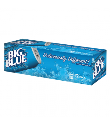 Big Blue Soda 12-Pack (12 x 12fl.oz (355ml)