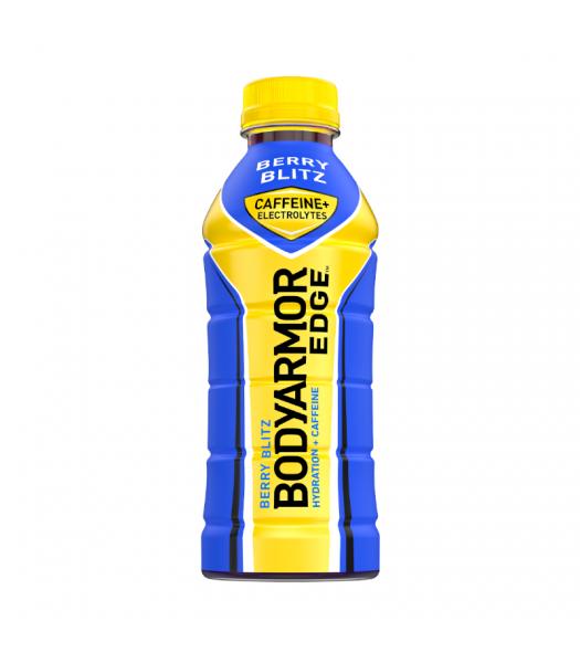 BODYARMOR EDGE Caffeinated Sports Drink Berry Blitz - 20.2oz (473ml) Soda and Drinks