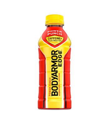 BODYARMOR EDGE Caffeinated Sports Drink Power Punch - 20.2oz (473ml) Soda and Drinks
