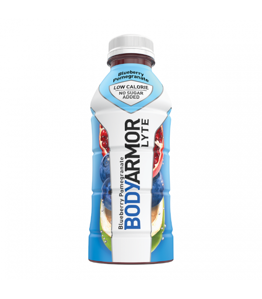 BODYARMOR LYTE Sports Drink Blueberry Pomegranate - 16oz (473ml) Soda and Drinks BODYARMOR