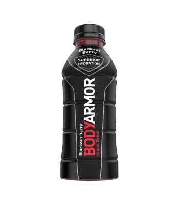 BODYARMOR Sports Drink Blackout Berry - 16oz (473ml) Soda and Drinks