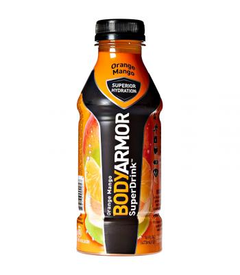 BODYARMOR Sports Drink Orange Mango - 16oz (473ml) Soda and Drinks