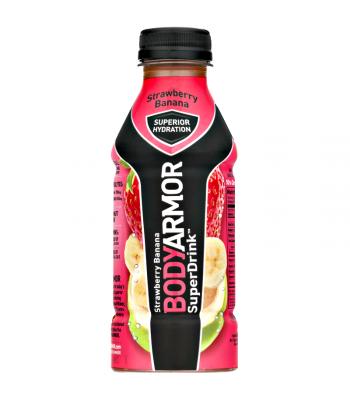 BODYARMOR Sports Drink Strawberry Banana - 16oz (473ml) Soda and Drinks
