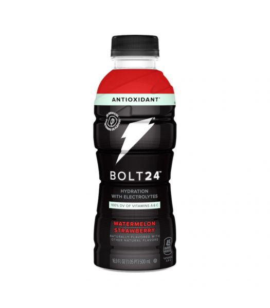Clearance Special - BOLT24 Sports Drink Watermelon Strawberry - 16.9oz (500ml) **Best Before: 19 July 21* Clearance Zone