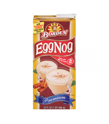 Clearance Special - Borden Egg Nog 32fl.oz (946ml) ** Best Before: 17 Jan 20** Clearance Zone