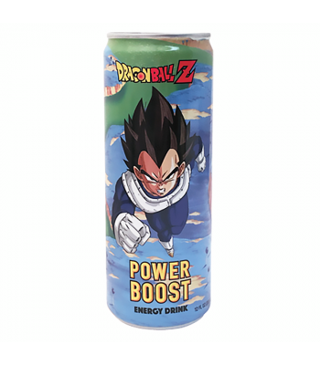 Dragon Ball Z Vegeta Power Boost Energy Drink - 12fl.oz (355ml) Soda and Drinks Boston America