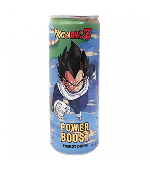 Dragon Ball Z Vegeta Power Boost Energy Drink - 12fl.oz (355ml) Soda and Drinks Boston America