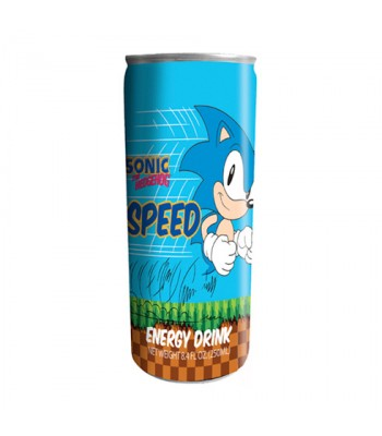 Sonic the Hedgehog Speed Energy Drink - 12fl.oz (355ml) Soda and Drinks Boston America
