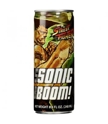 Street Fighter Sonic Boom Energy Drink 8fl.oz (248ml) Energy & Sports Drinks