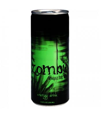 Zombie Awake Energy Drink 8.4fl.oz (248ml) Soda and Drinks