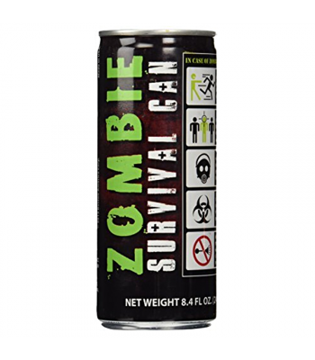 Zombie Survival Energy Drink 8.4fl.oz (248ml) Soda and Drinks