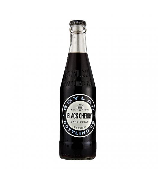 Boylan All Natural Black Cherry Soda - 12fl.oz (355ml) Soda and Drinks Boylan