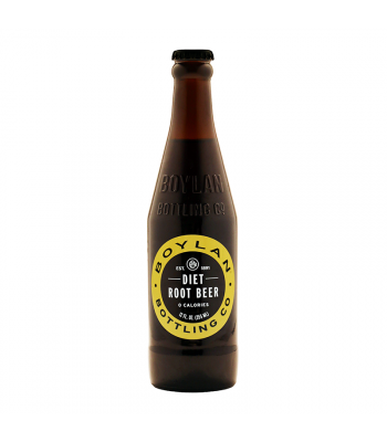 Boylan Diet Root Beer - 12fl.oz (355ml)  Soda and Drinks Boylan