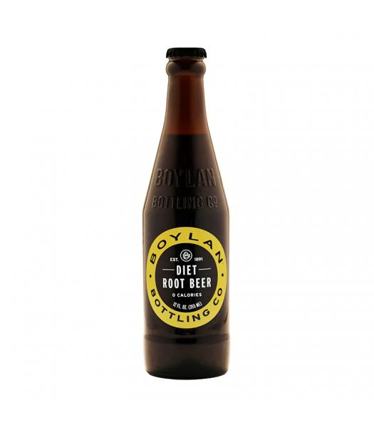 Boylan Diet Root Beer - 12fl.oz (355ml)  Soda and Drinks Boylan