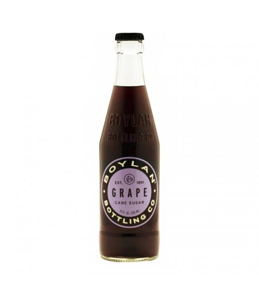 Boylan Grape Soda - 12fl.oz (355ml) Soda and Drinks Boylan