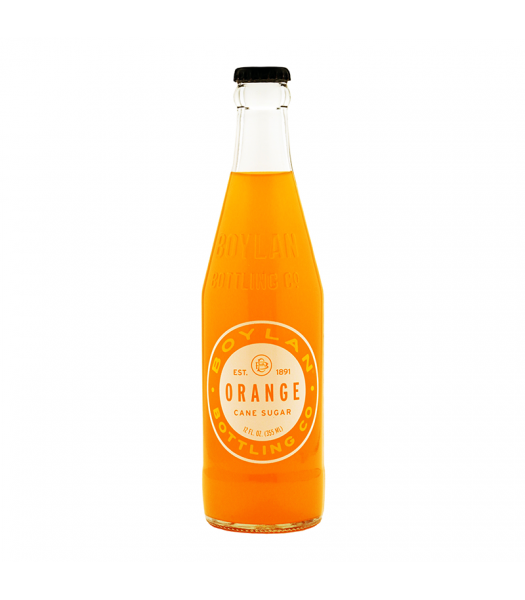 Boylan Orange Soda - 12fl.oz (355ml) Soda and Drinks Boylan