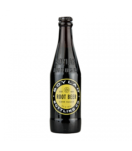 Boylan's All Natural Cane Sugar Root Beer - 12fl.oz (355ml) Soda and Drinks Boylan