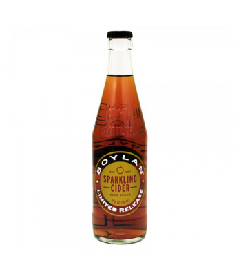 Boylan Sparkling Cider (Non-Alcoholic) - 12fl.oz (355ml) Soda and Drinks Boylan