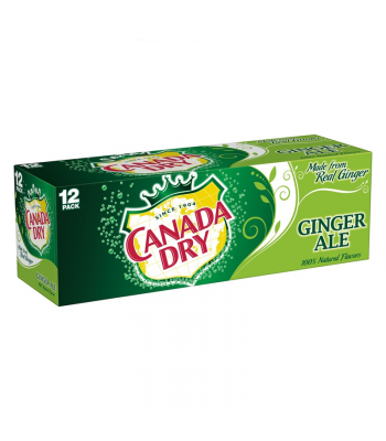 Canada Dry Ginger Ale 12-Pack (12 x 12fl.oz ((355ml)) Soda and Drinks Canada Dry