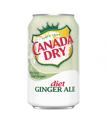 Canada Dry Diet Ginger Ale 12fl.oz (355ml) Soda and Drinks Canada Dry