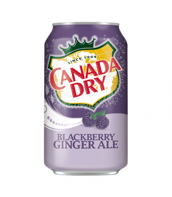 Canada Dry Blackberry Ginger Ale - 12fl.oz (355ml) Soda and Drinks Canada Dry