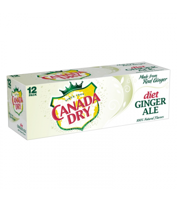 Canada Dry Diet Ginger Ale 12-Pack (12 x 12fl.oz ((355ml)) Soda and Drinks Canada Dry