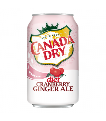 Canada Dry Diet Cranberry Ginger Ale - 12fl.oz (355ml) Soda and Drinks Canada Dry