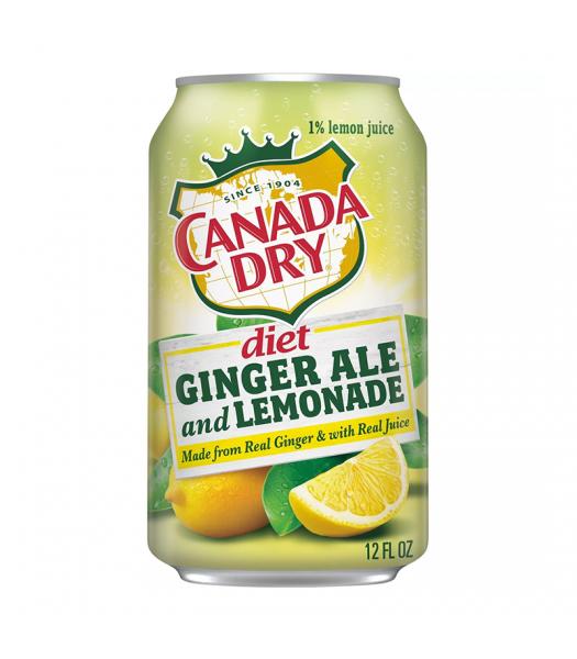 Canada Dry Diet Ginger Ale and Lemonade - 12fl.oz (355ml)