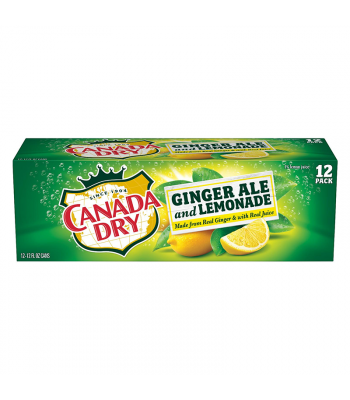 Canada Dry Ginger Ale and Lemonade - 12-Pack (12 x 12fl.oz (355ml))