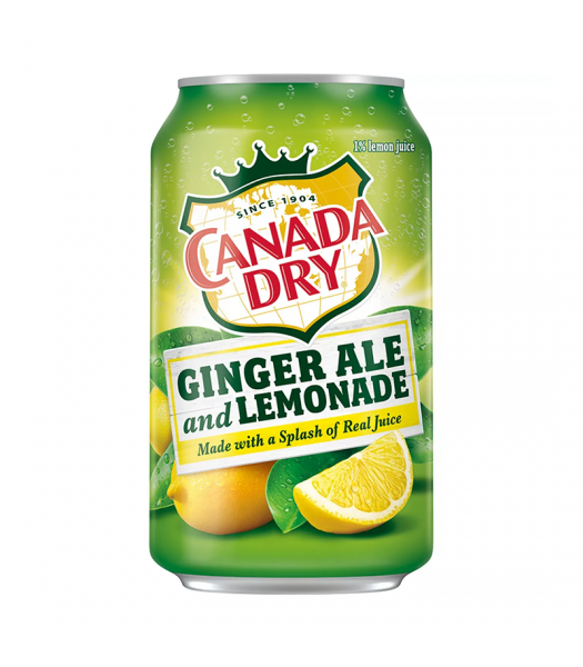 Canada Dry Ginger Ale and Lemonade - 12fl.oz (355ml)