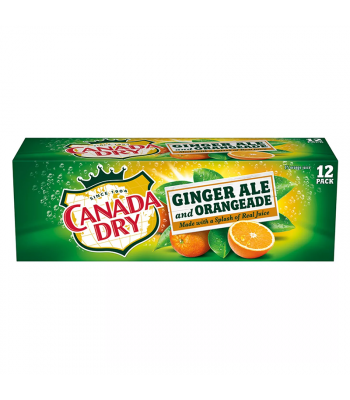 Canada Dry Ginger Ale and Orangeade - 12-Pack (12 x 12fl.oz (355ml))
