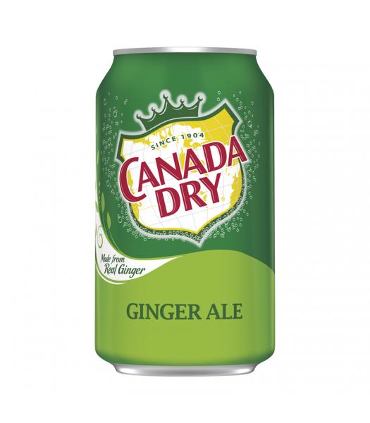 Canada Dry Ginger Ale 12fl.oz (355ml) Soda and Drinks Canada Dry