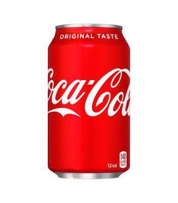 Coca Cola Classic (U.S. Origin) 12fl.oz (355ml) Can Soda and Drinks Coca Cola