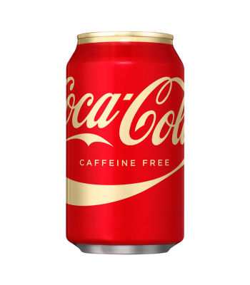 Coca Cola Caffeine Free 12oz (355ml) can Regular Soda Coca Cola